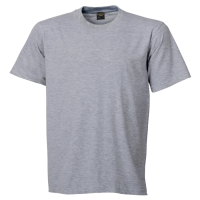 Barron cotton t-shirt 145g Grey Melange