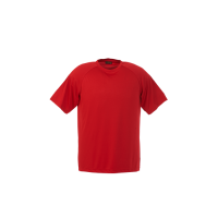 Barron polyester t-shirt red