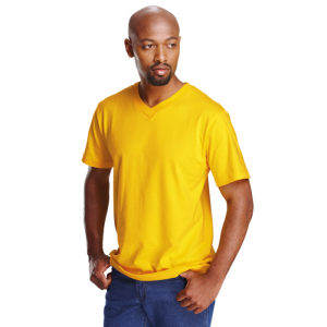 Barron-v-neck -cotton-t-shirt-180g