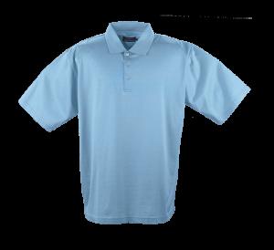 double mercerised golf shirts