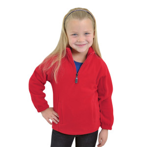 Proactive-kids-quater-zip-fleece