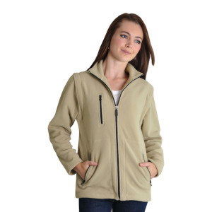 Proactive-ladies-zip-off-polar-fleece