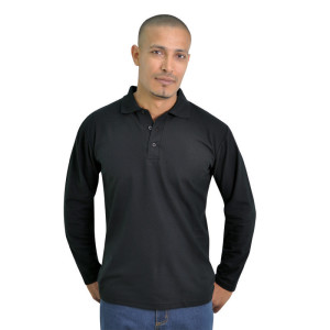 Proactive-pique-knit-long-sleeve-golf-shirt