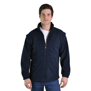 Proactive-zip-off-polar-fleece