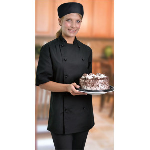 Proactive Short Slv Chef Jacket