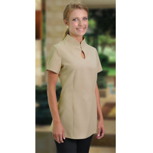 Beauty therapist tops hospitality clothing cape town for Spa uniform south africa