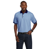 striped polo shirts