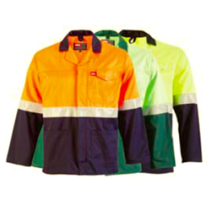 jonsson two tone reflective work jacket