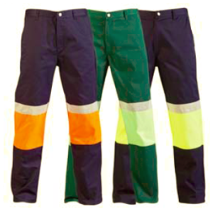 jonsson two tone reflective work trouser