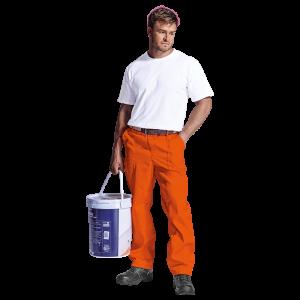 budget poly cotton conti trouser