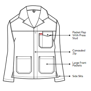 Jonsson Work Wear Conti Jacket