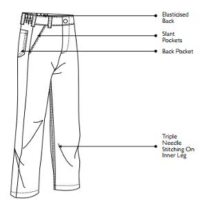 Jonsson Work Wear Conti Trouser