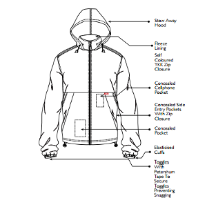 Jonsson Oxford Jacket with Fleece Lining