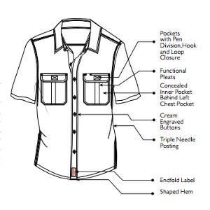 Jonsson Legendary Short Sleeve Work Shirt