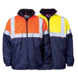 Jonsson Two Tone Reflective High Viz Oxford Jacket
