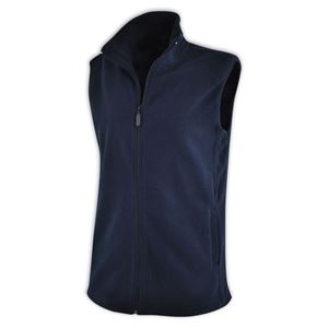 Ladies Sleeveless Fleece Jacket Navy