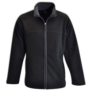 Bonded Fleece Jacket Black