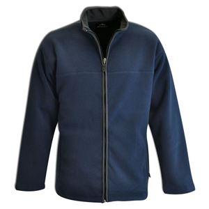 Bonded Fleece Jacket Navy